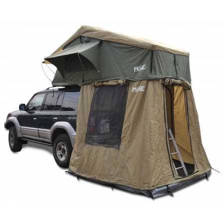 Namiot dachowy 145cm z przedsionkiem