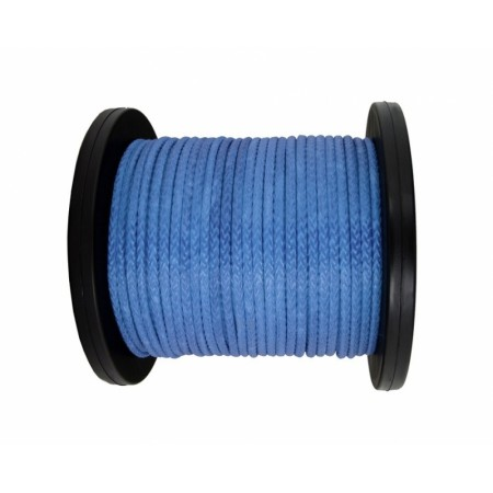Synthetic rope 16 mm, blue, MBL 23.5T