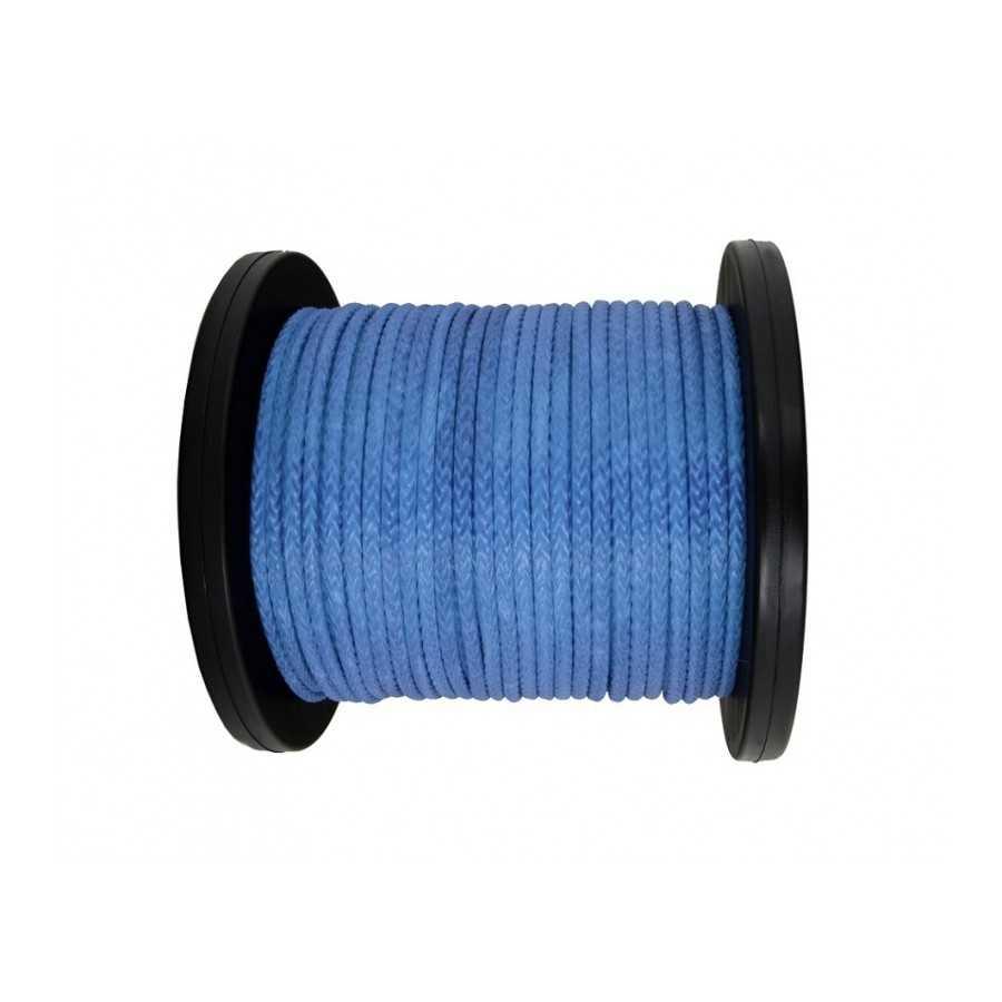 Lina syntetyczna 14 mm, niebieska, MBL 19,05 T