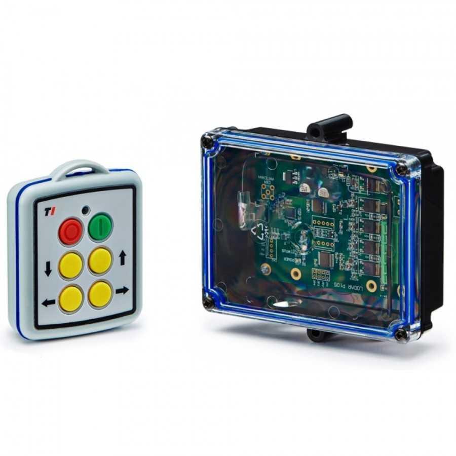 Sterowanie radiowe LODAR 12-24V, 4-funkcyjne, Mini RX master (mini transmitter)