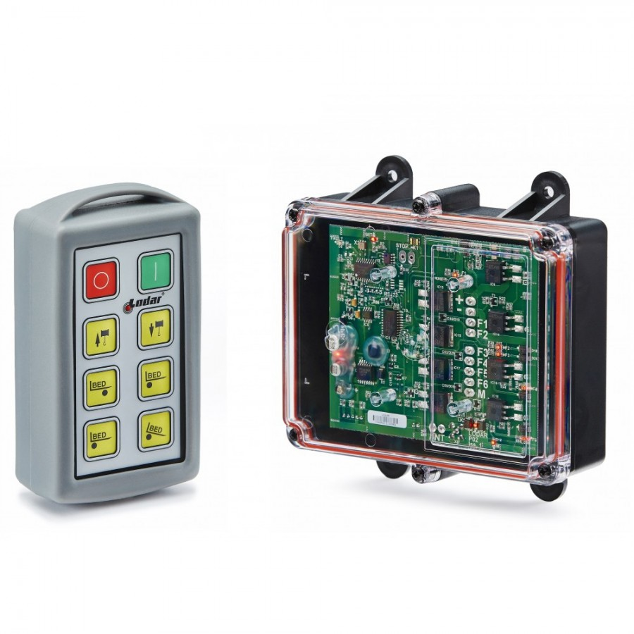 Sterowanie radiowe LODAR 12-24V, 6-funkcyjne