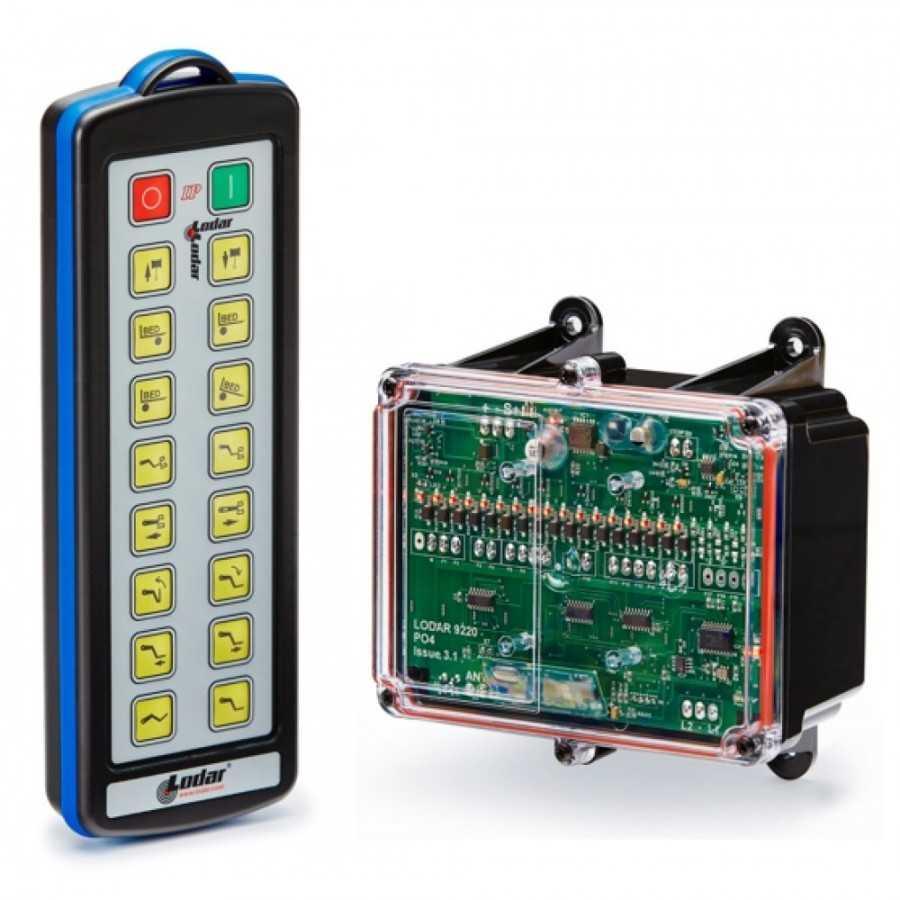 Sterowanie radiowe LODAR 12-24V, 16-funkcyjne