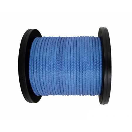 Lina syntetyczna do wyciągarki 12 mm, niebieska, MBL 13.5T