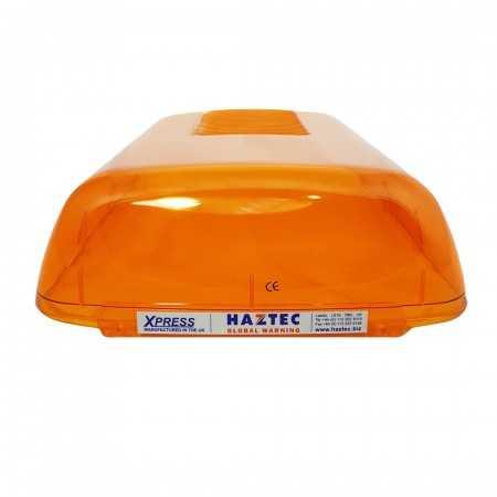 Klosz boczny pomarańczowy do belki Haztec Xpress, dł. 365mm