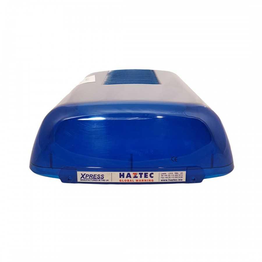 Klosz boczny niebieski do belki Haztec Xpress, dł. 365mm
