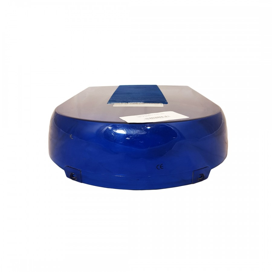 Klosz boczny niebieski do belki Haztec Xpert, dł. 400mm