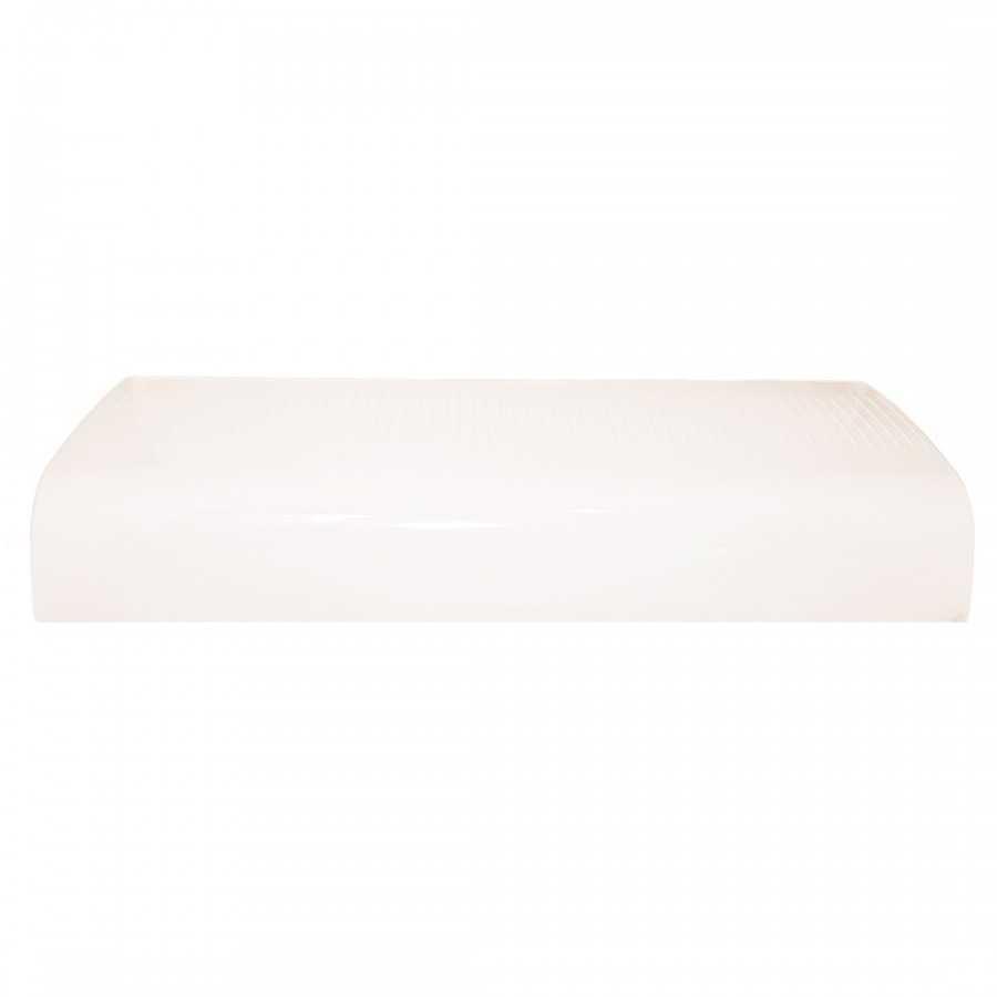 Klosz centralny biały do belki Haztec Xpress, dł. 600mm