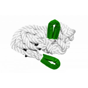 Kinetic rope 14 mm x 3 m, MBL 4T, reinforced loops on both sides
