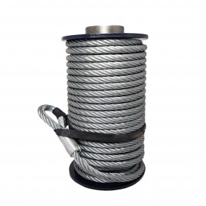 Superwinch steel rope 9,5 mm x 26 m. (Talon 9.5/12.5)