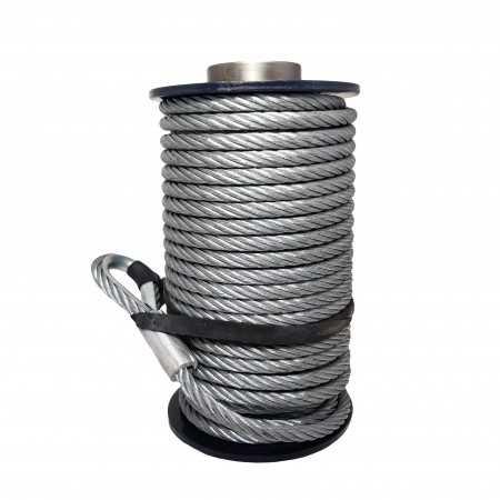 Superwinch steel rope 9,5 mm x 26 m. (Talon 9.5/12.5)