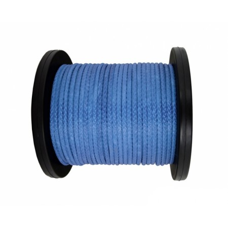 Synthetic rope 10 mm, blue, MBL 10.5T