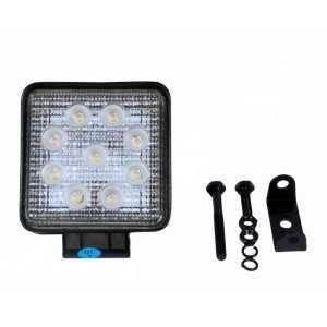 Lampa robocza Powerlight 9x LED, 27W, 2200 lm, 10-30V