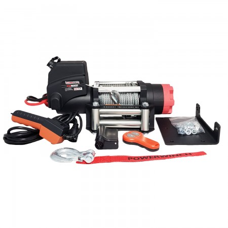 Powerwinch PW6000E 24V with remote
