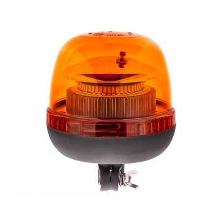 Pojedyncza lampa LAP LTB-030 LED, 12/24V, pomarańczowa, mocowanie DIN, R65