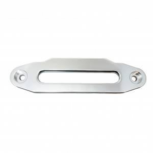 Aluminiowa prowadnica ślizgowa Powerwinch Silver z LOGO