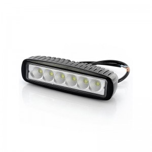 Powerlight 6x LED, 18W, 1800 lm, 9-32V