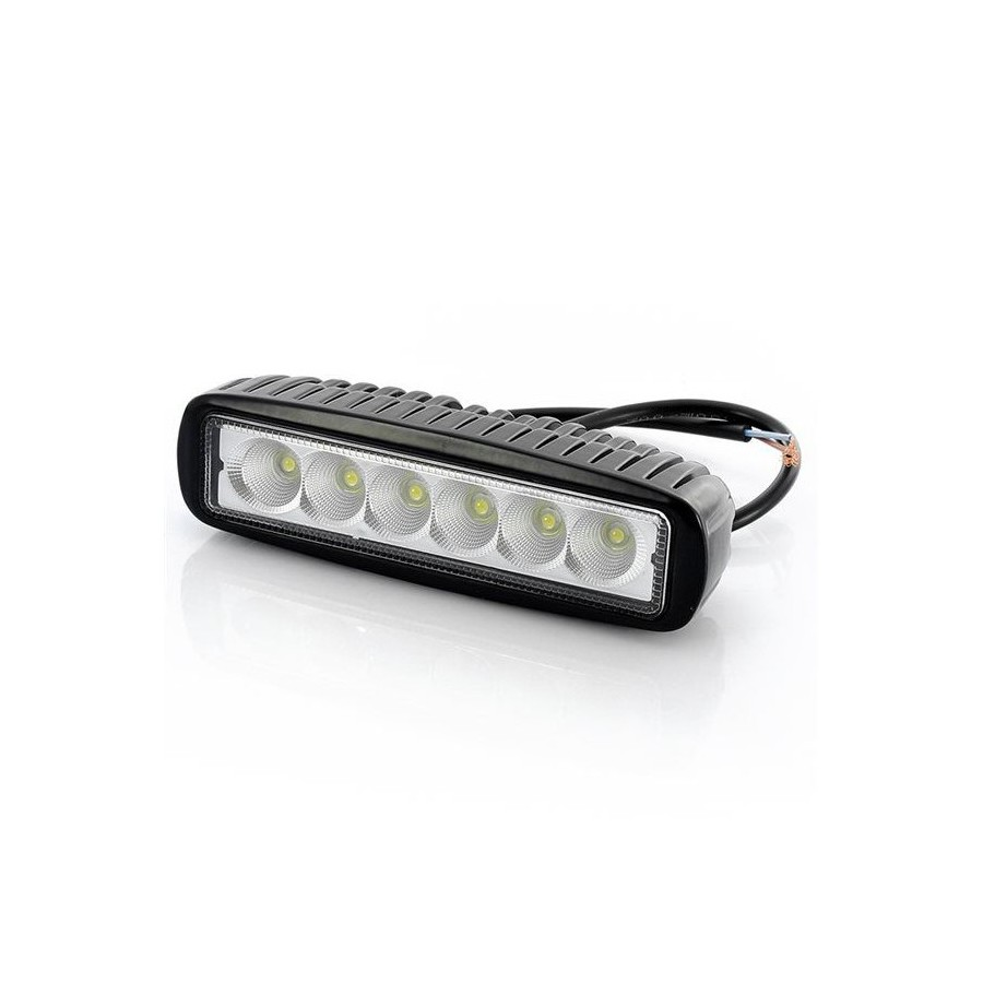 Lampa robocza Powerlight 6x LED, 18W, 1800 lm, 9-32V