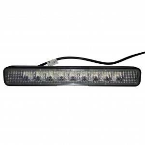 Lampa robocza 911 SL, karetkowa, 9xLED 10-33V, czarna obudowa