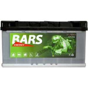 BARS ENERGY 12V 100Ah P+