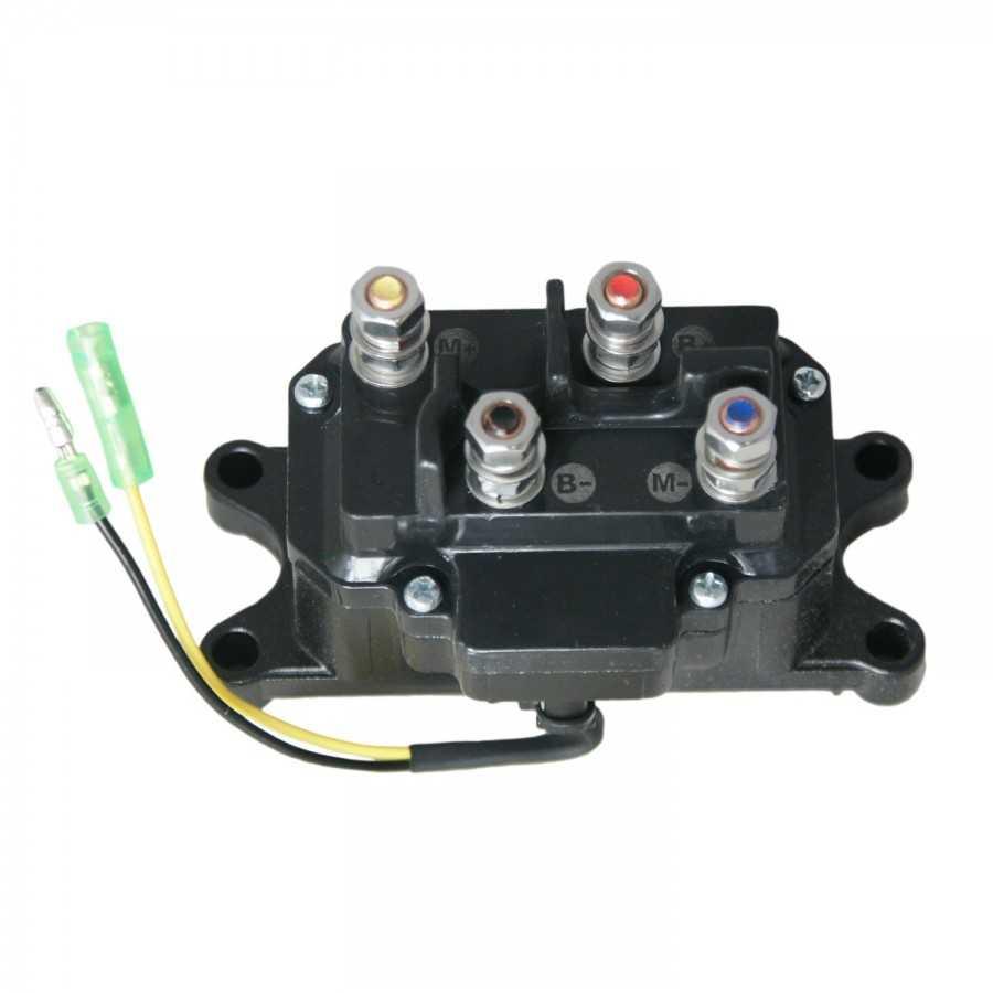 Przekaźnik zespolony ATV Powerwinch 200A 12V