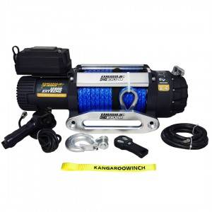 Powerwinch PW12500 Extreme with Synthetic Rope