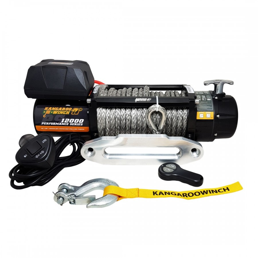 Kangaroowinch K12000 Performance Series synthetic rope