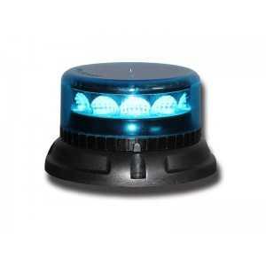 Lampa pojedyncza LED C12 MIRAGE, niebieska, mocowanie 3-pkt 12/24V, R65