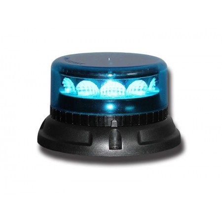 LED C12 MIRAGE, blue, 3 point mounting 12/24V, R65