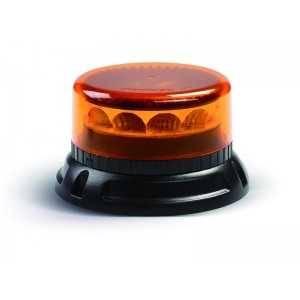 Lampa pojedyncza LED C12 MIRAGE, pomarańczowa, mocowanie 3-pkt 12/24V, R65