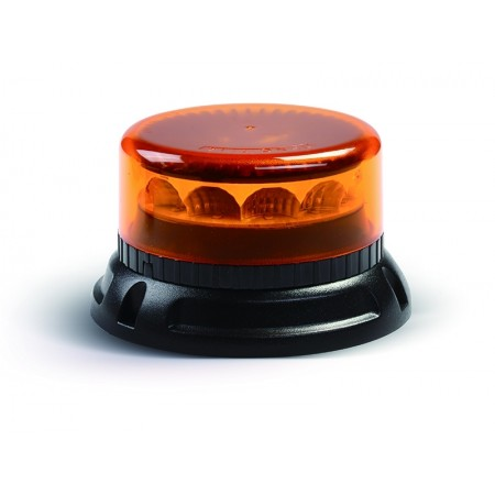 LED C12 MIRAGE, orange, 3 points mouting, 12/24V, R65