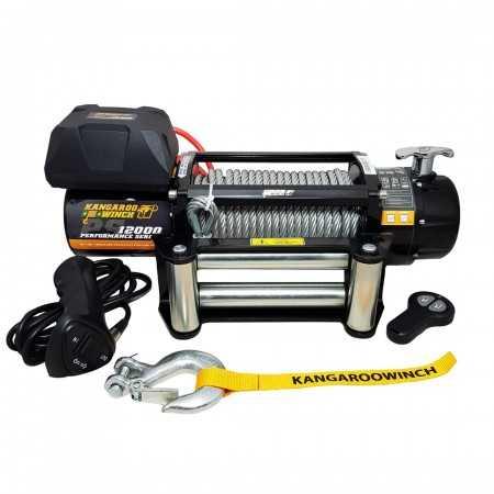 Wyciągarka elektryczna Kangaroowinch PS25 PRO z normą PN-EN 14492-1