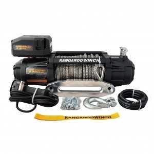 Wyciągarka samochodowa Kangaroowinch K12000 Extreme HD 12V z liną syntetyczną