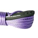 Lina syntetyczna 9 mm x 25 m, Purple z kauszą, MBL 8,5T