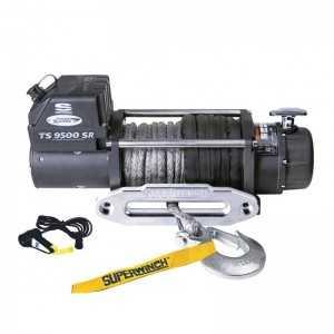 Wyciągarka TigerShark 9500 12V z liną syntetyczną