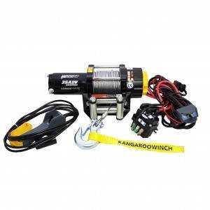 Wyciągarka PW3500SR 12V z liną syntetyczną ze sterowaniem bezprzewodowym