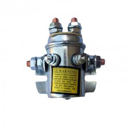 Przekaźnik baryłkowy Powerwinch 200A 12V