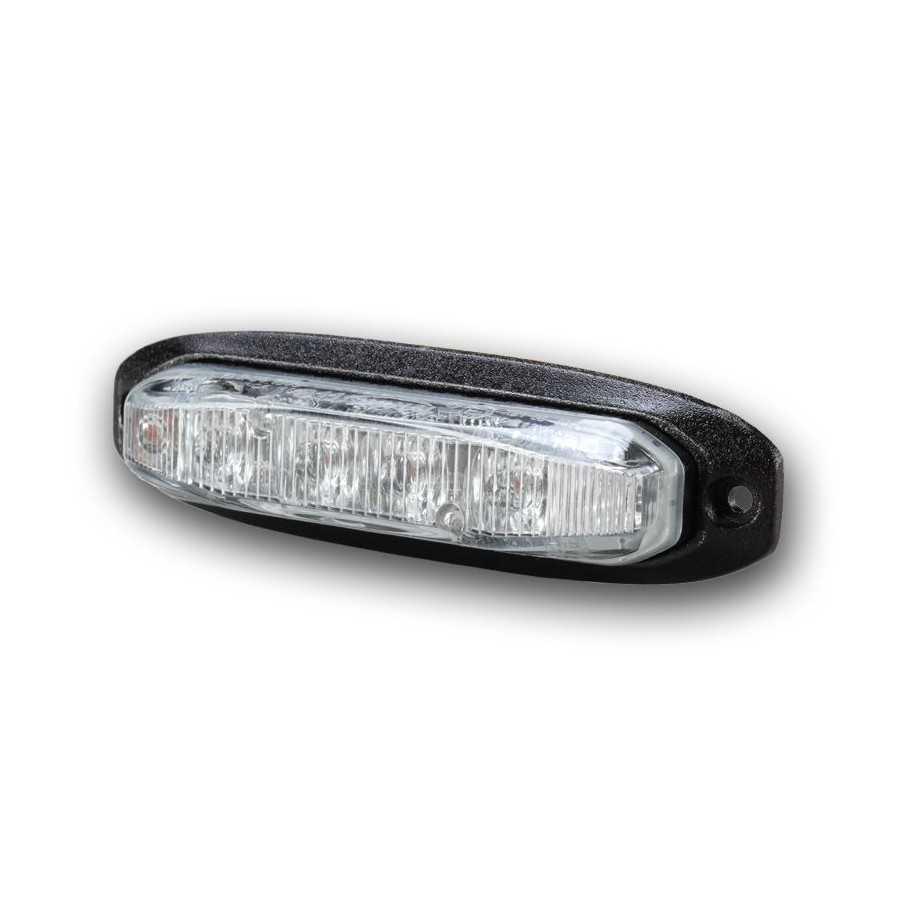 Lampa kierunkowa MicroLED X6 pomarańczowa , powierzchniowa, 12/24V, R65