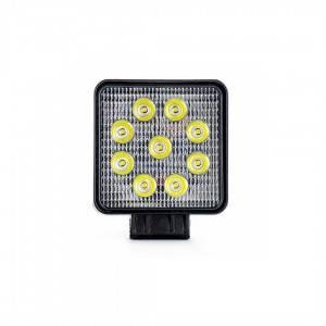 Lampa robocza LED 9x LED kwadratowa