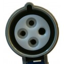 Szybki Wyjazd KUSSMAUL Super 30 Auto Eject AE - wtyczka i gniazdo automatyczne COMBO 230V AC, 30A, 12/24V, 12,07 BAR, 9m przewod