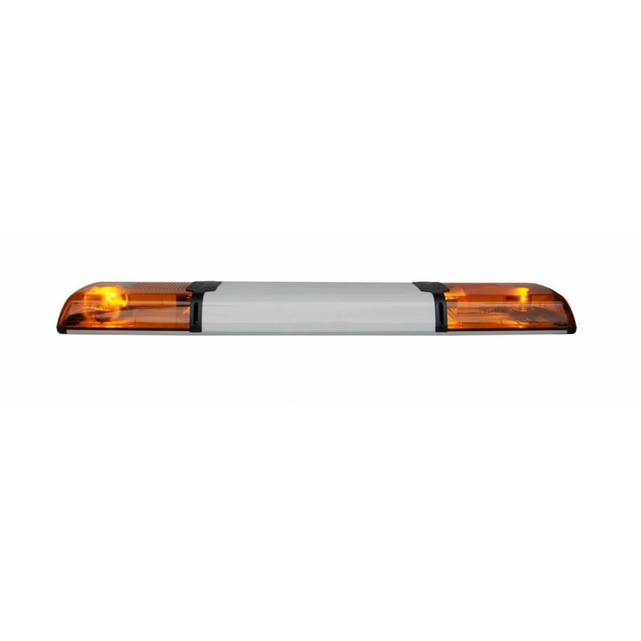 Lampa zespolona Haztec Xpress Rotator, 1362 mm, 12V, pomarańczowa, R65