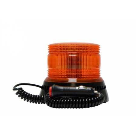 Pojedyncza lampa LAP LFB-020 LED, 12/24V, pomarańczowa, mocowanie magnetyczne, R65
