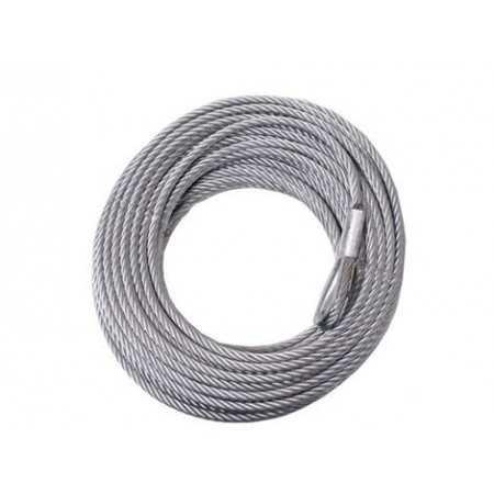 Steel rope Superwinch 9,5 mm x 26 m. ( Tigershark 11500)