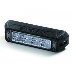 Lampa kierunkowa MicroLED C4 WASP, niebieska , powierzchniowa, 12/24V, R65