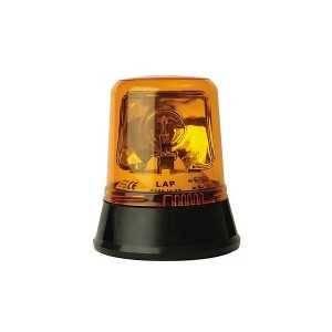 Pojedyncza lampa rotatorowa LAP 255, 12/24V, mocowanie 3pkt, pomarańczowa, bez żarówki