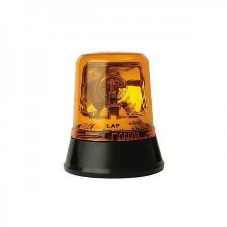 LAP 255 12/24V, Rotating Beacons 3-point, orange without light bulb