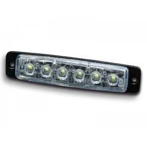 Lampa kierunkowa MicroLED F6 niebieska , powierzchniowa, 12/24V, R65