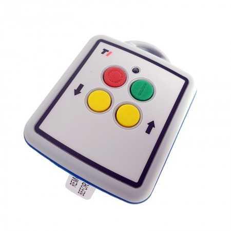 Radio control LODAR 12-24V, 2-functional, Mini RX master (mini transmitter)
