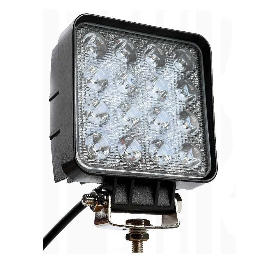 Lampa robocza Powerlight 16x LED, 48W, 3071 lm, 9-32V