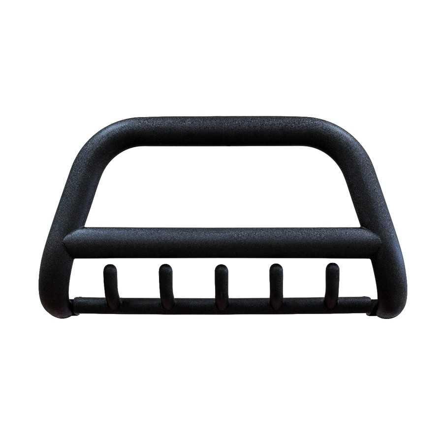Orurowanie przednie z poprzeczką Toyota Hilux Revo 2015+, homologacja, stal nierdzewna, czarny mat, rura 90mm