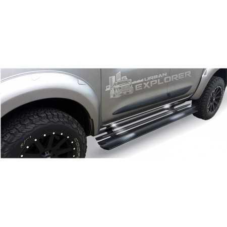 Progi boczne automatyczne z podświetleniem, Ford Ranger T6 2012+
